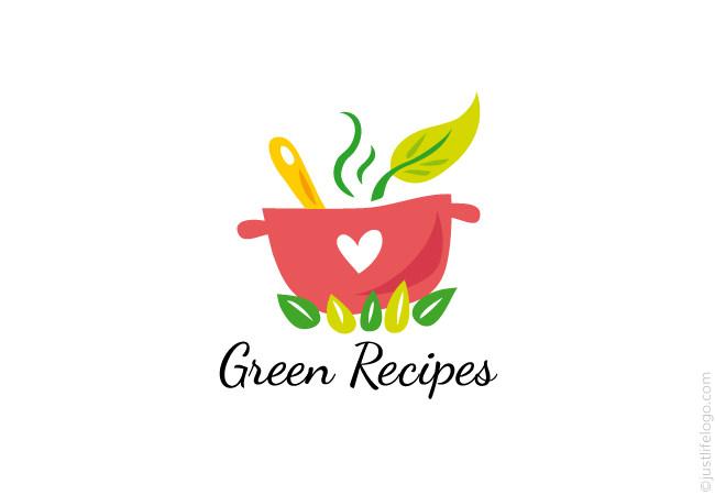 Green recipes logo great logos for sale green recipes logo for sale forumfinder Choice Image