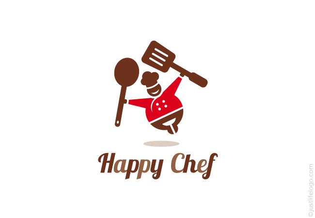 Happy Chef Logo   Great Logos For Sale