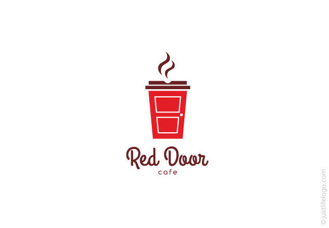 red door cafe logo great logos for sale