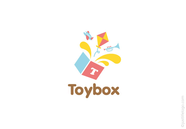 Toy Box Logo | Great Logos For Sale