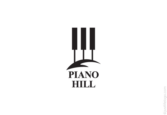 piano hill logo great logos for sale
