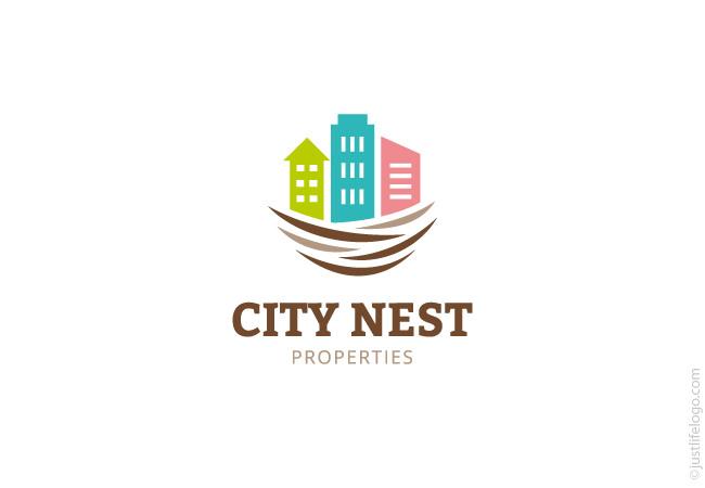 city-nest-property-logo-for-sale