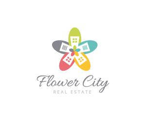 Flower City Real Estate Logo