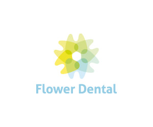 flower-dental-logo-for-sale-small