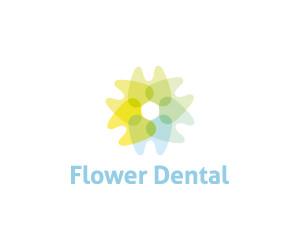 flower-dental-logo-for-sale-small