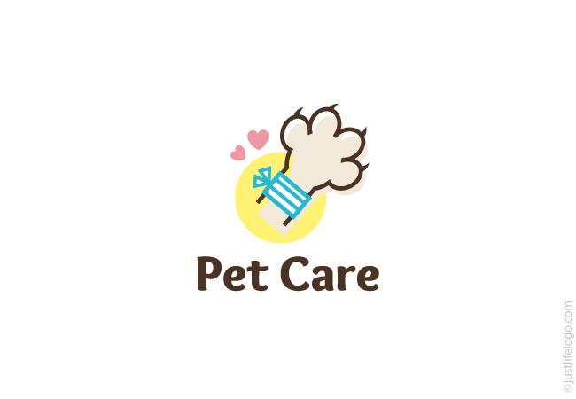 Dog Text Logo Free