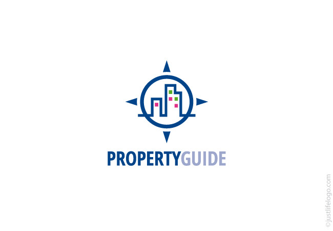 property-guide-real-estate-logo-for-sale