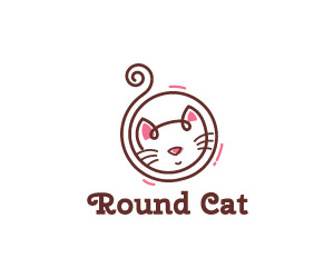 round-cat-logo-for-sale-small