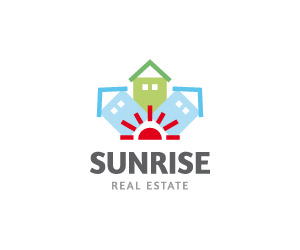 sunrise-real-estate-logo-for-sale-small