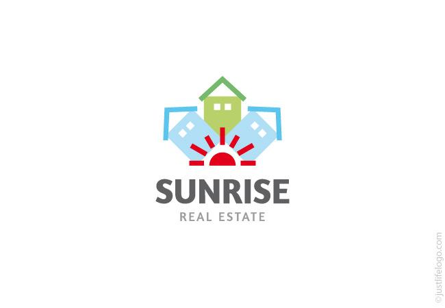 Sunrise Real Estate Logo Great Logos For Sale