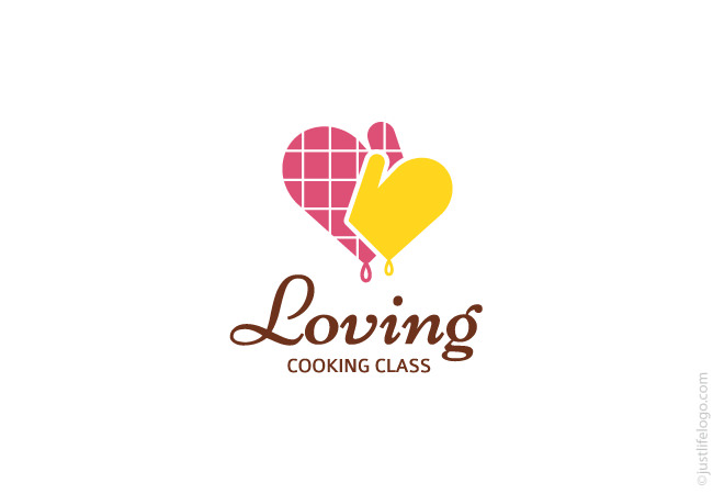 loving-cooking-class-logo-for-sale